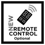 NEW REMOTE CONTROL – OPTIONAL