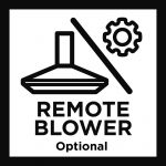 Remote blower – Optional